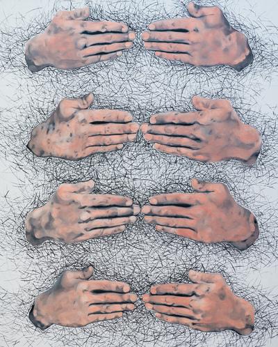 Agata Kleczkowska - painting // malarstwo - Acrylic on canvas, 120x80