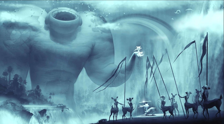 aurora jimenez ▪ visual storytelling - SUMMERSIA / Personal project Amazons Waterfall / Concept