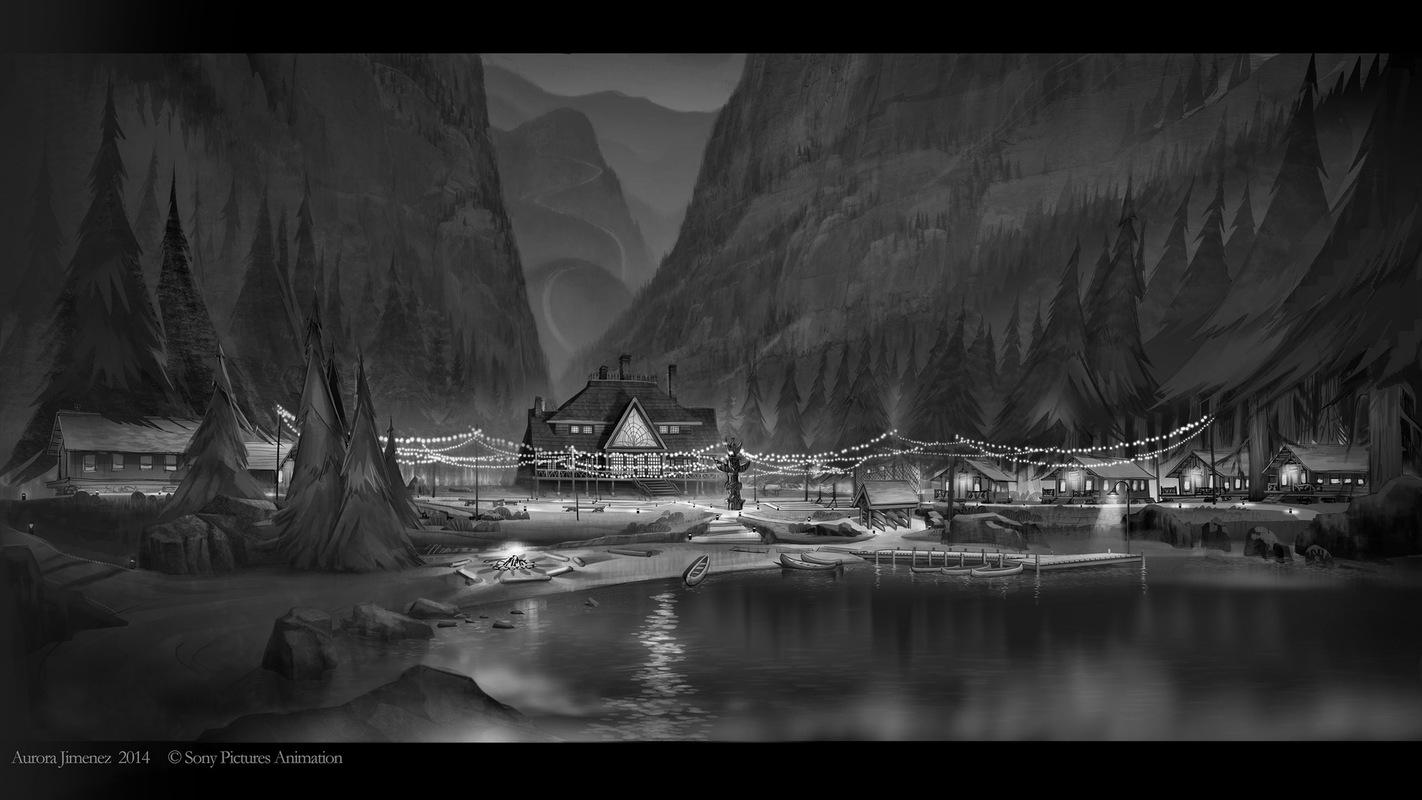 aurora jimenez ▪ visual storytelling - HOTEL TRANSYLVANIA 2 / 2015 / SONY PICTURES ANIMATION / DESIGN (BY AURORA JIMENEZ)