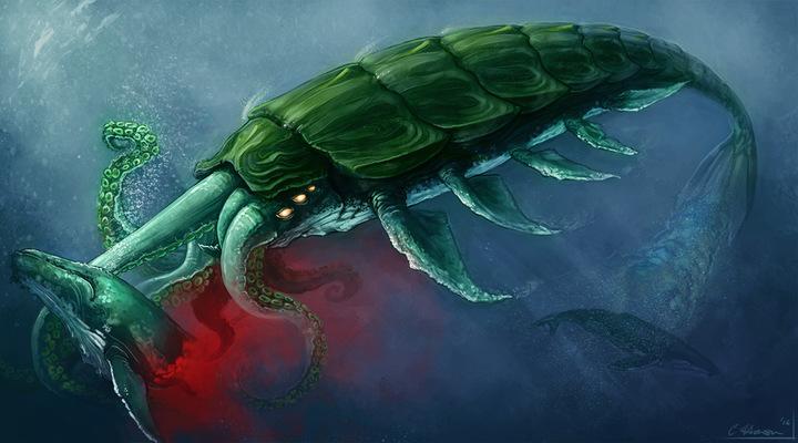 Celeste Hansen - Chitinous Cetalopod