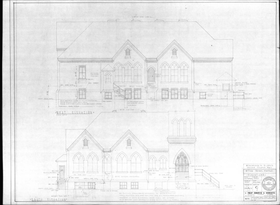 SP Dumaresq Architect Ltd - St. John United Church Hall