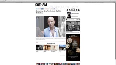 Audrey Stimpson - Gotham Magazine