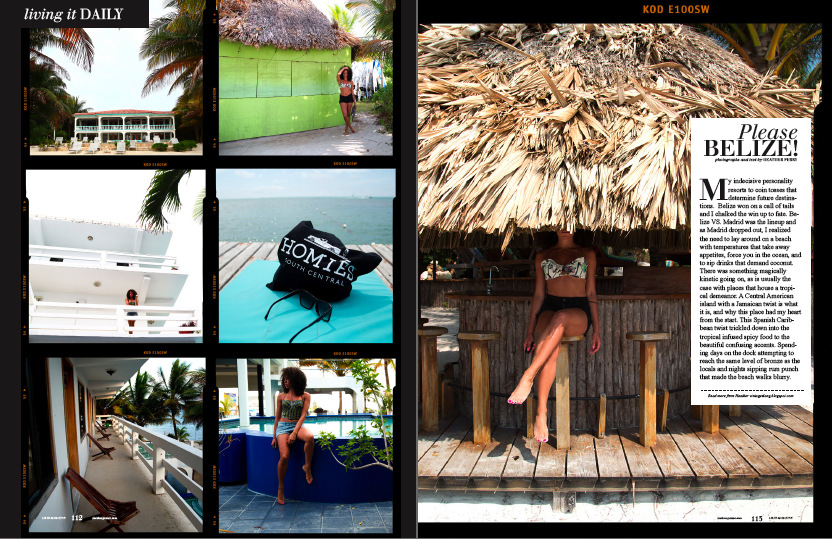 Heather Perry- Fashion Photography-San Francisco - Belize travel feature for Livid Magazine