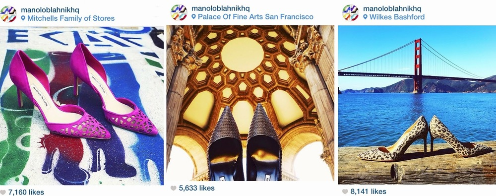 Heather Perry- Fashion Photography-San Francisco - Manolo Blahnik social media campaign