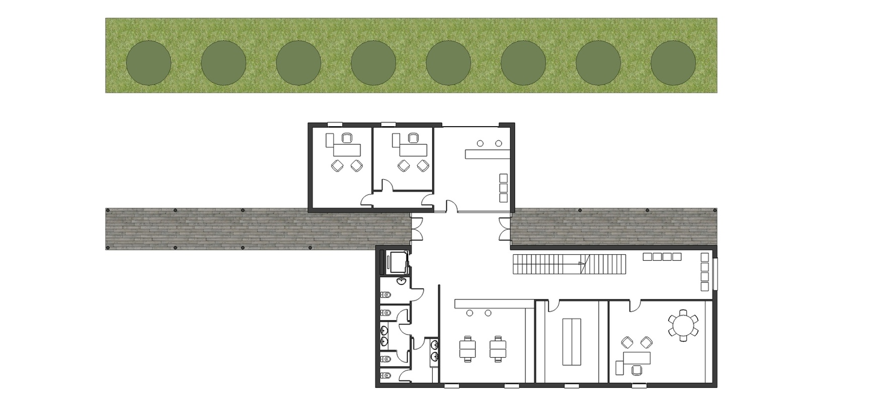 arqestudiBOMON - planta baja / ground floor