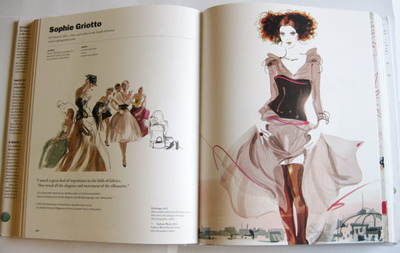 Sophie Griotto Illustration - Extrait de Illustration Now! Fashion. Sélectionne les 90 dessinateurs de mode contemporains dans le monde.