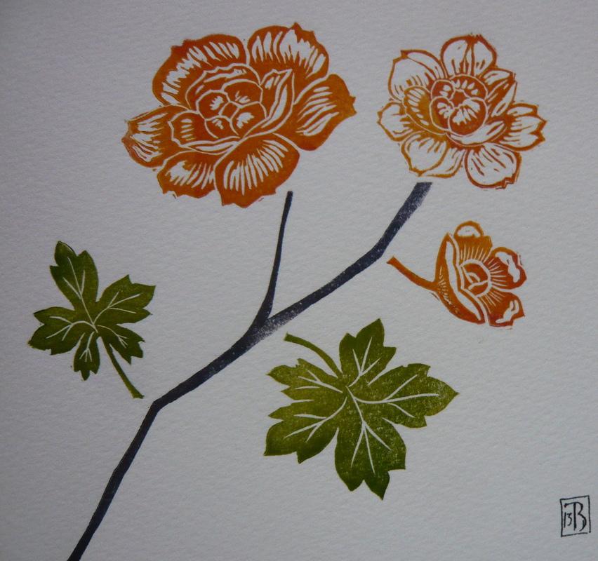 Firingan Kalligrafi - Rose 1