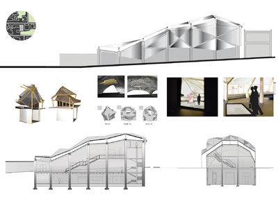 Margaret Molly McCormick Portfolio - Proposal for the New Washington Textile Museum, Washington DC
