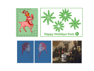 Margaret Molly McCormick Portfolio - Holiday Cards