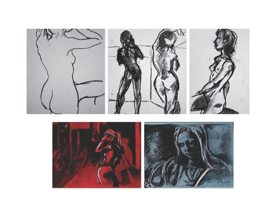 Margaret Molly McCormick Portfolio - Life Drawing Sketches