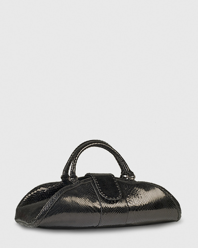 PALADINE - leather goods - CLEOPATRE M / Black Python