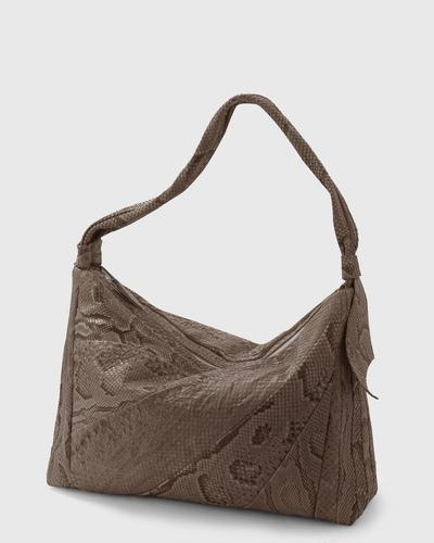 PALADINE - leather goods - Taupe Python