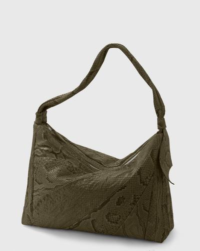 PALADINE - leather goods - Khaki Python