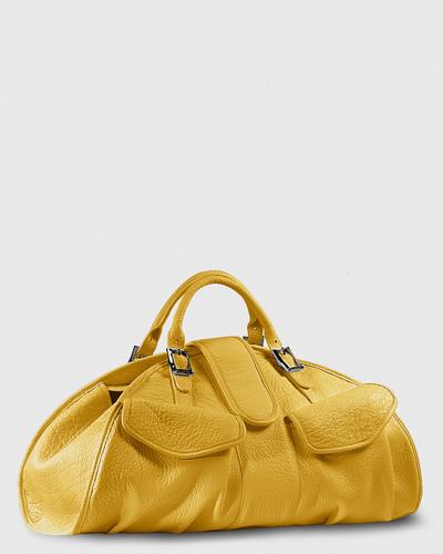 PALADINE - leather goods - CLEO L / Yellow Buffalo leather