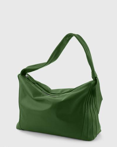 PALADINE - leather goods - Green Lambskin