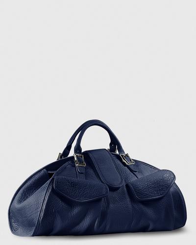 PALADINE - leather goods - CLEO L / Navy Blue Buffalo leather