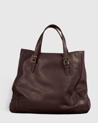 PALADINE - leather goods - Brown Buffalo leather