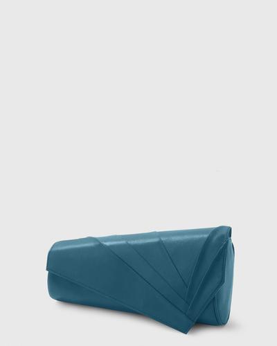 PALADINE - leather goods - Peacock blue Lambskin