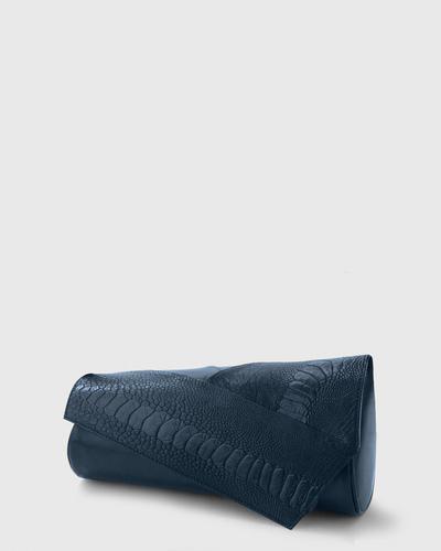 PALADINE - leather goods - Navy Blue Austrichleg/ Navy Blue Lambskin