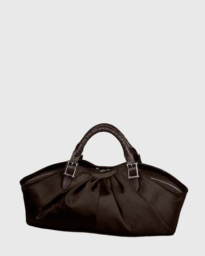 PALADINE - leather goods - Brown Pony calfskin / Brown Python