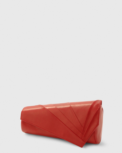 PALADINE - leather goods - Red Lambskin