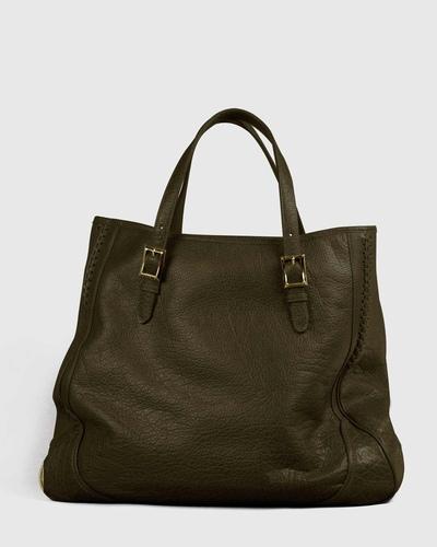 PALADINE - leather goods - Khaki Buffalo leather