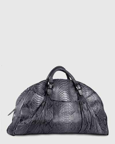 PALADINE - leather goods - Grey Python