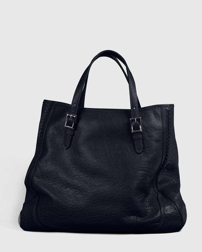 PALADINE - leather goods - Navy Blue Buffalo leather
