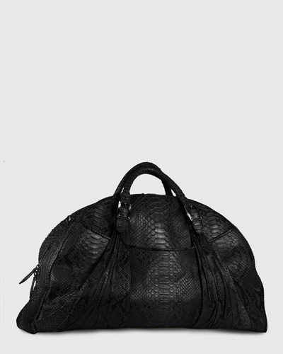 PALADINE - leather goods - Black Python