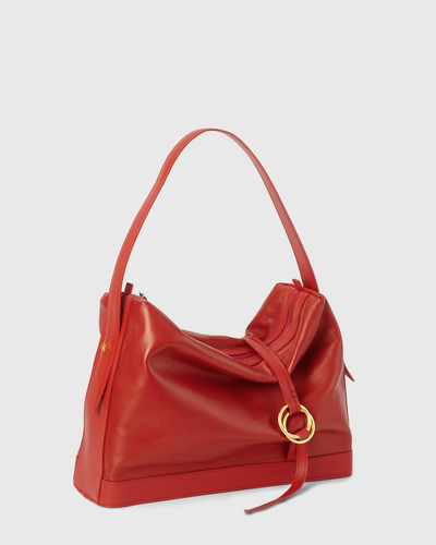 PALADINE - leather goods - Red Lanbskin