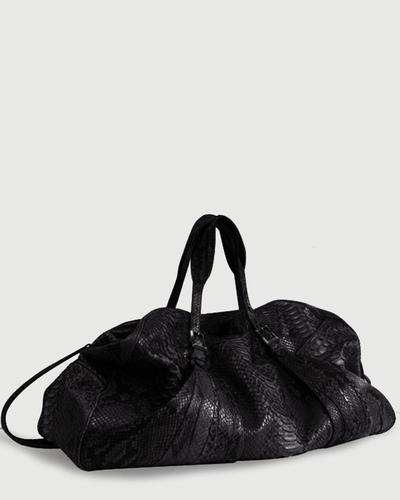 PALADINE - leather goods - Black Python