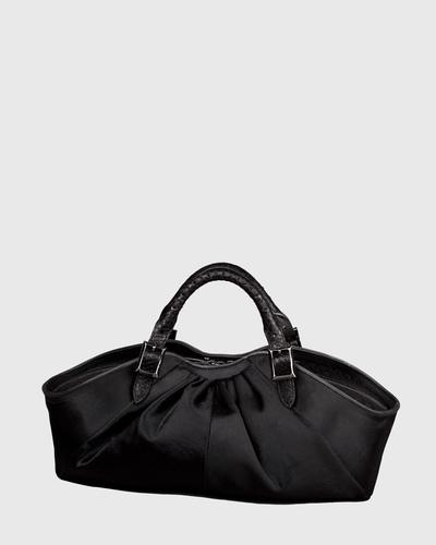 PALADINE - leather goods - Black Pony calfskin / Black Python