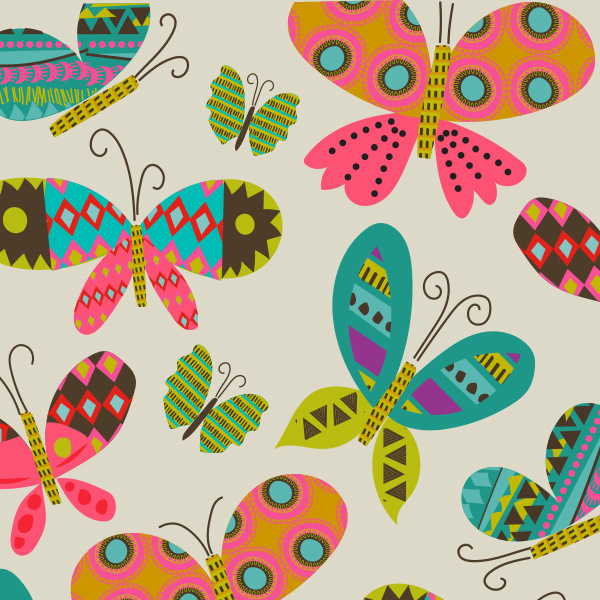 Tina Beans - butterflies