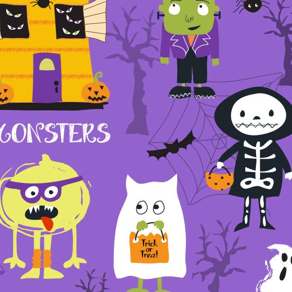 Tina Beans - spooky