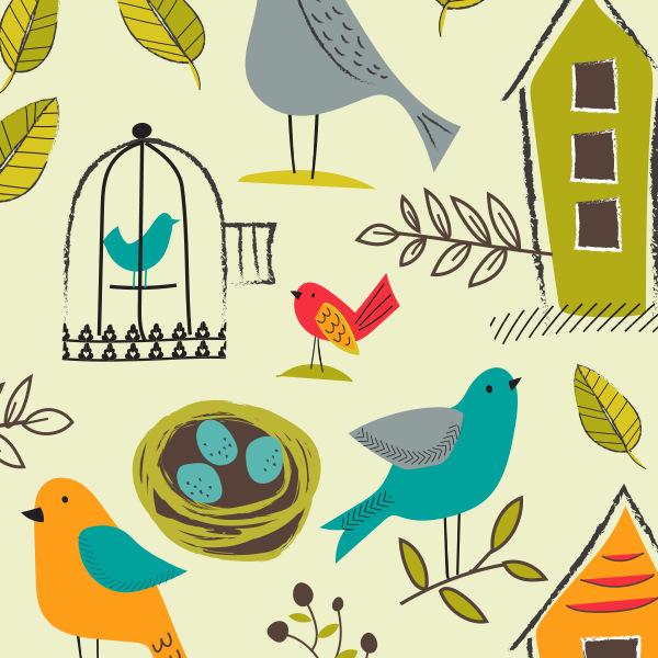 Tina Beans - birds and nests