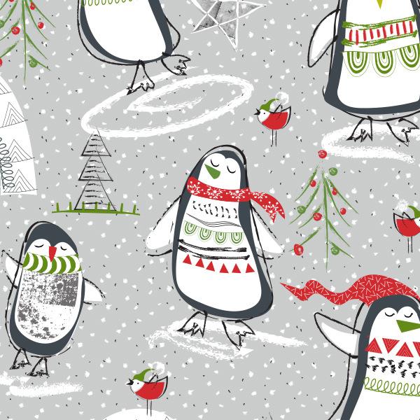 Tina Beans - holiday penguins