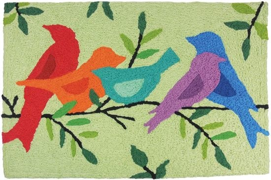 Tina Beans - Song birds 21x33