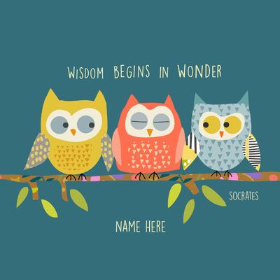 Tina Beans - Wisdom begins in wonder