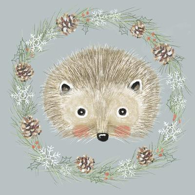 Tina Beans - Wintery hedgehog