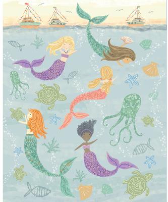 Tina Beans - Merry mermaids