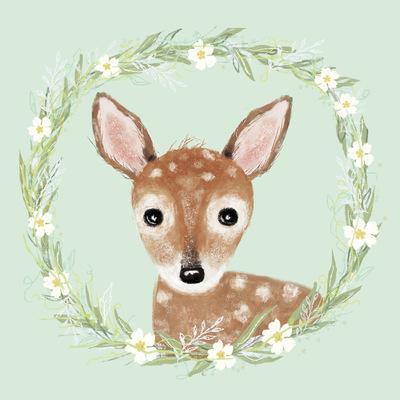 Tina Beans - Springtime fawn