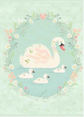 Tina Beans - Sweet swans