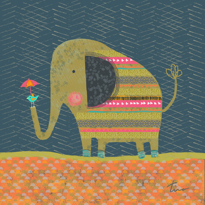 Tina Beans - The elephant and the Bird