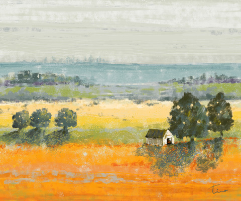 Tina Beans - Serene landscape