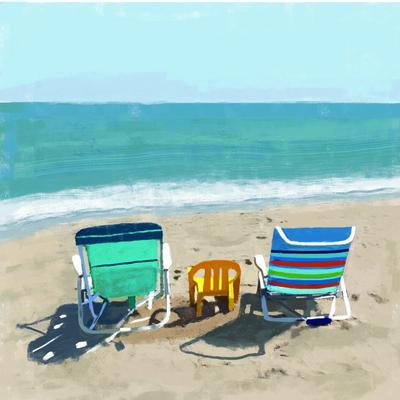 Tina Beans - beach chairs 1