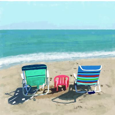 Tina Beans - beach chairs 2