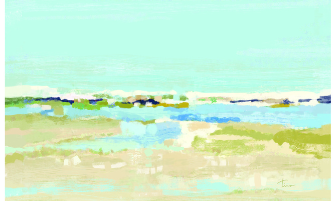 Tina Beans - shoreline serenity