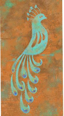 Tina Beans - Rust peacock
