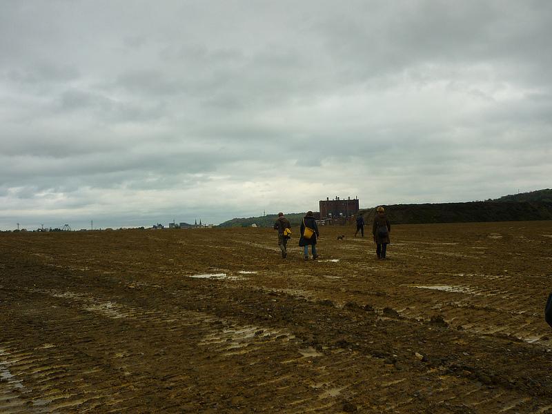 Jörg Kaspari - Landschaftsarchitekt - HORIZONT & HOCHEBENE - Auf französischer Seite überquerten wir eine großflächige Hochebene mit Blick über den Horizont.