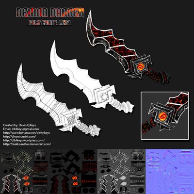 Portfolio Gallery - Texture Artist & 3d Modeler - Devin Q  Keys